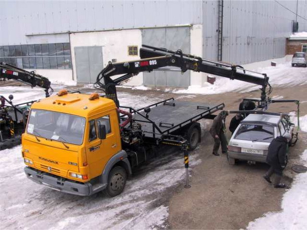 Автомобильный эвакуатор - цена за 1 км эвакуации 3