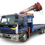 Автомобильный кран манипулятор 5 тонн - аренда, цена, услуги 1