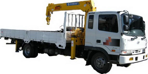 Кран борт манипулятор - заказать грузовик с манипулятором 2