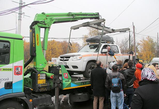 Эвакуация автомобиля в Москве - стоимость эвакуации манипулятором 3