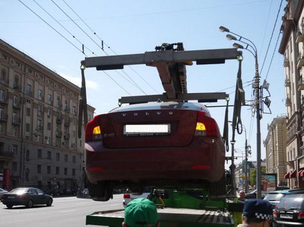Как узнать - эвакуировали машину или нет (Москва) 2