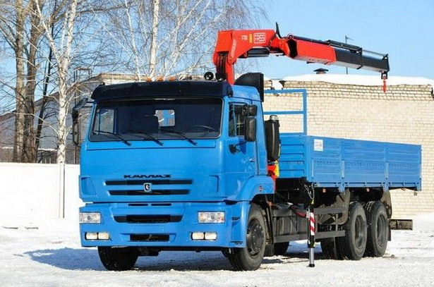 Кран борт манипулятор - заказать грузовик с манипулятором 3