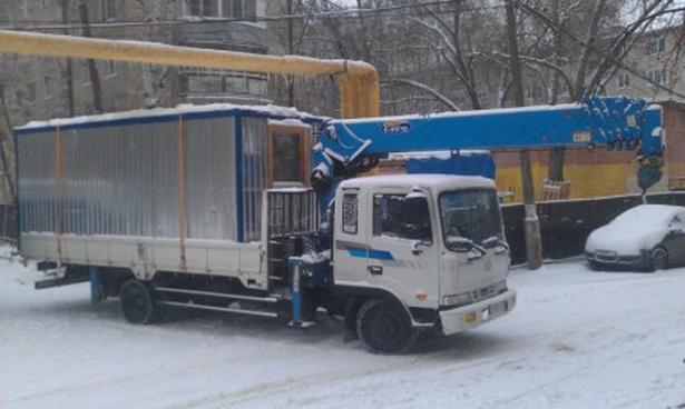 Перевозка бытовок - цена в Москве и области 2