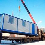 Перевозка бытовок - цена в Москве и области 1