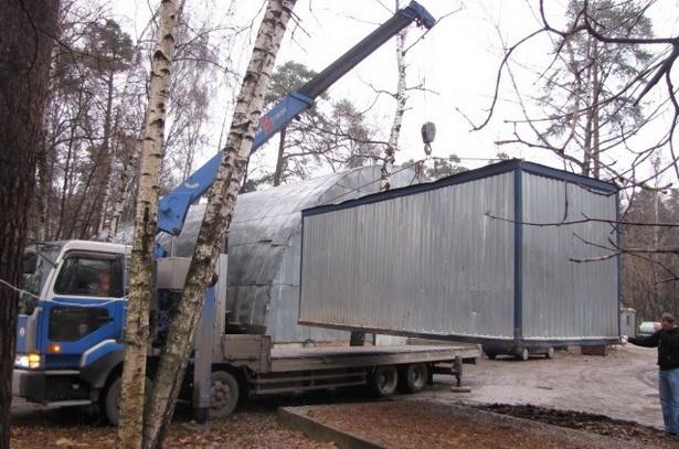 Перевозка мебели по Москве недорого манипулятором 3